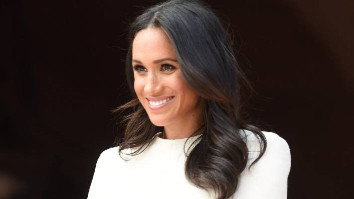 Meghan Markle suffered a MAJOR wardrobe malfunction today