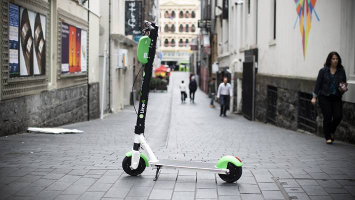 No word if Lime's Okai scooters being removed over safety concerns are in use in New Zealand.