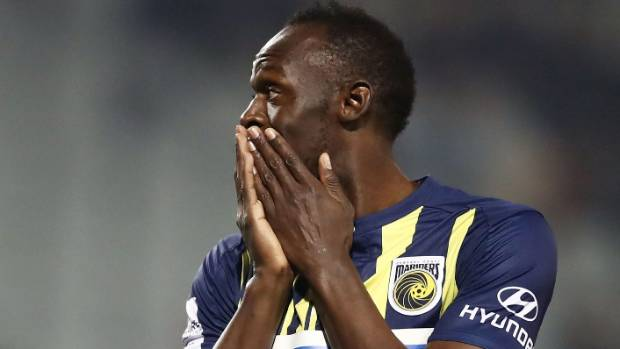 Perth Glory star Andy Keogh's savage assessment of Usain Bolt 'farce'