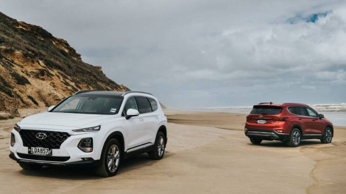 f08c9da861 Fourth-generation Santa Fe goes big on technology. But it s full of  practical packaging