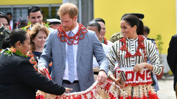 Prince Harry meets starstruck young fan in Wellington