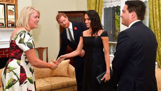 Royal tour: Prince Harry Meghan Markle greet fans in New Zealand