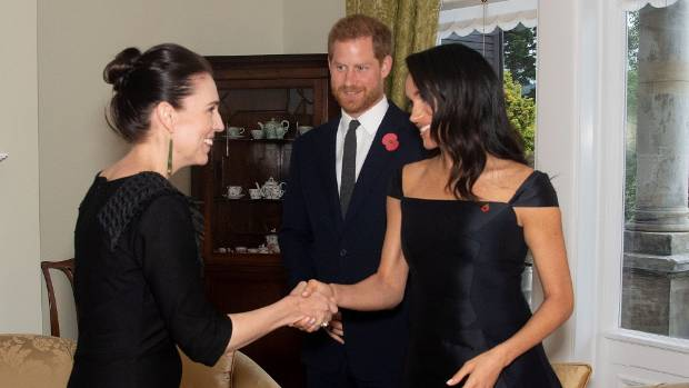 Harry and Meghan's overseas tour ends as it began - with a surprise