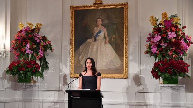 Meghan Markle Accidentally Rocks a See-Through Skirt in New Zealand