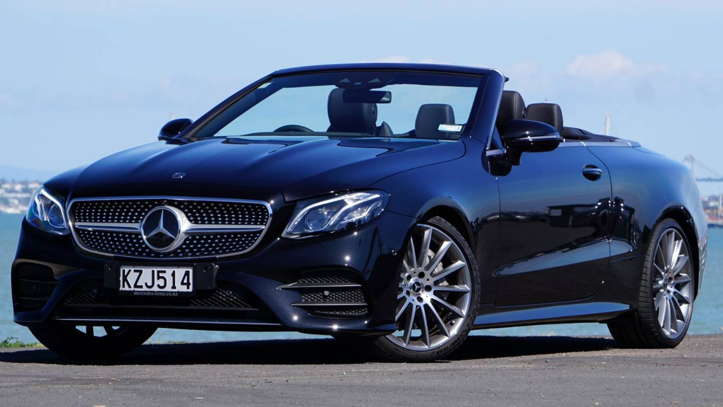 Why The Mercedes Benz E Class Is Our Top Convertible Of 2018 Stuff Co Nz