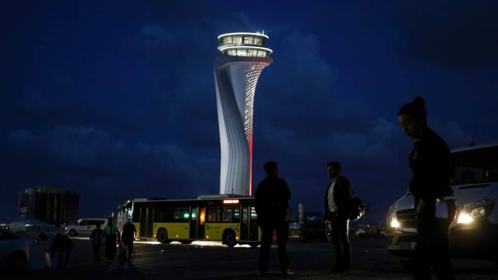 Erdogan inaugurates Istanbul Airport, one of world's largest