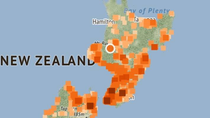 Magnitude 6.1 quake rocks New Zealand