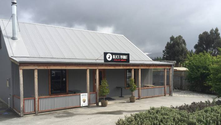 Black Rabbit Cafe in Bannockburn, Central Otago.