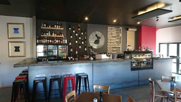 The owners of the Black Rabbit Kitchen & Bar in Bannockburn had to remove the bar stools and reduce the number of chairs to 12.