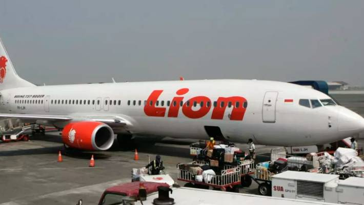 Indonesian Lion Air jet was