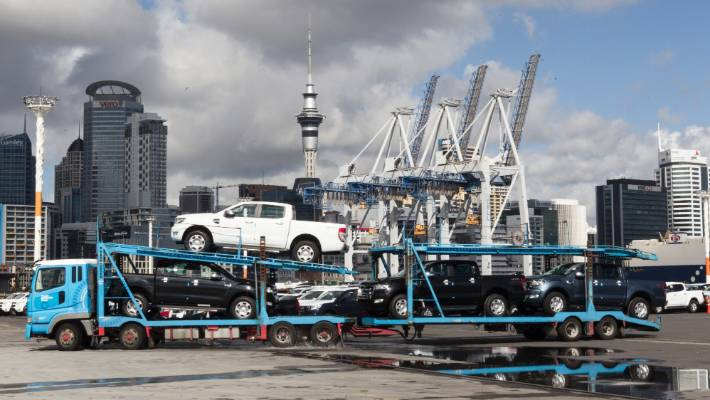 A council commissioned study found shifting the vehicle import trade, could lose Auckland $1 billion