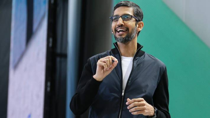 Google CEO Sundar Pichai apologised for the company's
