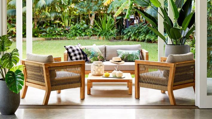 Outdoor Furniture So Luxe You Ll Want It For Inside Stuff