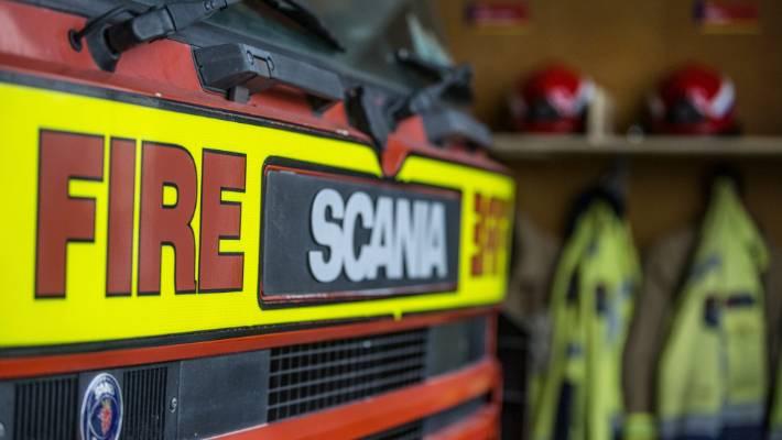 Stratford shed fire engulfs car, threatens house | Stuff co nz
