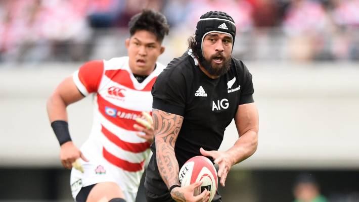 Laumape shines as All Blacks win 100-point game with Japan