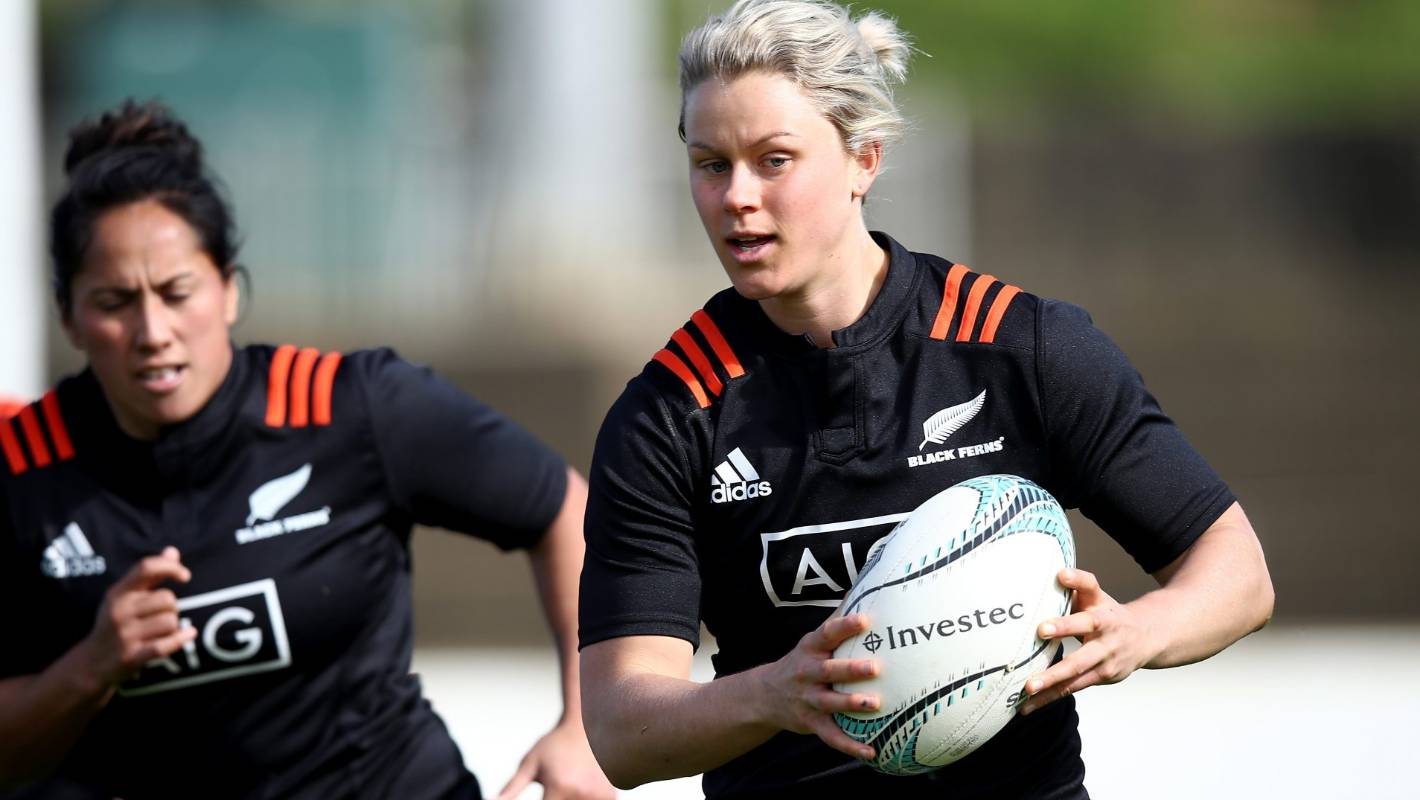 Black Ferns midfielder Chelsea Alley embraces challenges at top of her sport