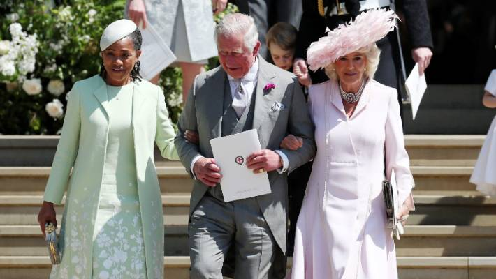 Doria Ragland got to know the royals including Prince Charles and Camilla at Meghan and Harry's wedding in May
