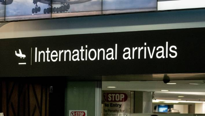 Travellers and guests have been evacuated from several areas of Auckland Airport following a fire. (File photo)