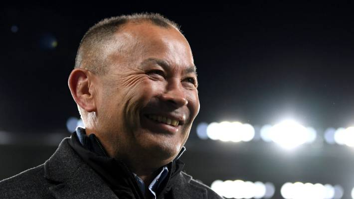 Eddie Jones can't wait to face the All Blacks