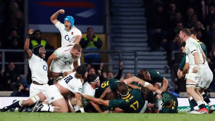 Eddie Jones calls for two on-field referees