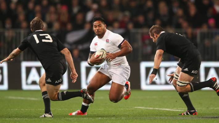 Tuilagi included in England's 25-man squad for New Zealand clash