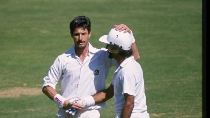 Richard Hadlee thought India's Kris Srikkanth would be his world record test wicket, instead he offered congratulations.