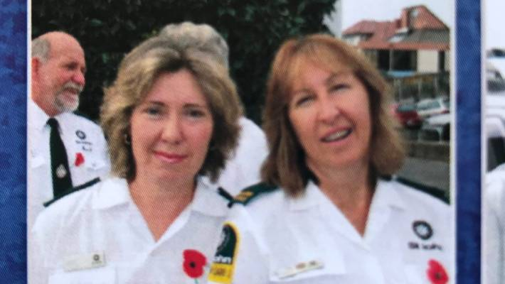Yvonne Rogers, left, was a long-serving St John Ambualance volunteer.