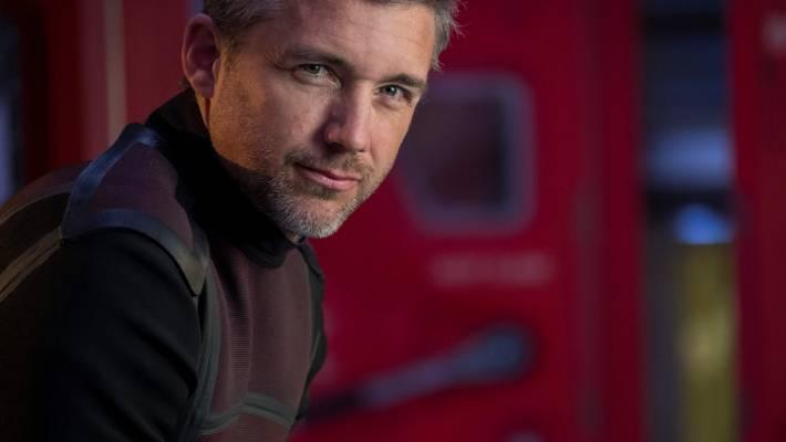 Jeff Hephner, qui joue le chef de la colonie minière Kurt Hurrelle.