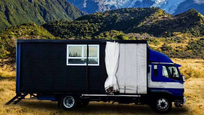 couple sold their house and business to live in a house truck rh stuff co nz house truck new zealand house truck for sale australia