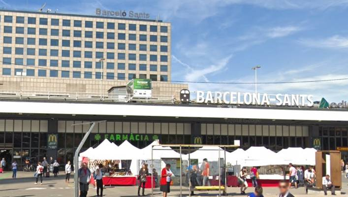 Train Service Restored At Barcelona Station After Possible Explosive