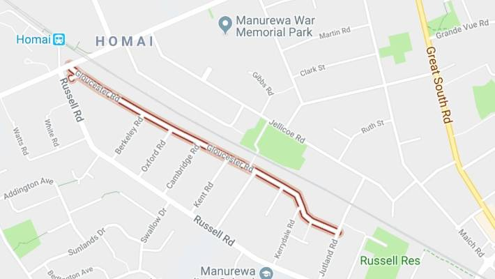 A pedestrian has suffered a train in Manurewa, South Auckland.