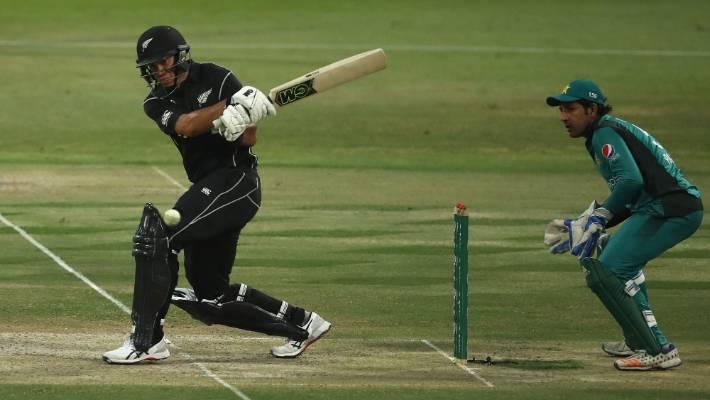 Ross Taylor's black cap batsman surpassed 80 points in his 266-9.