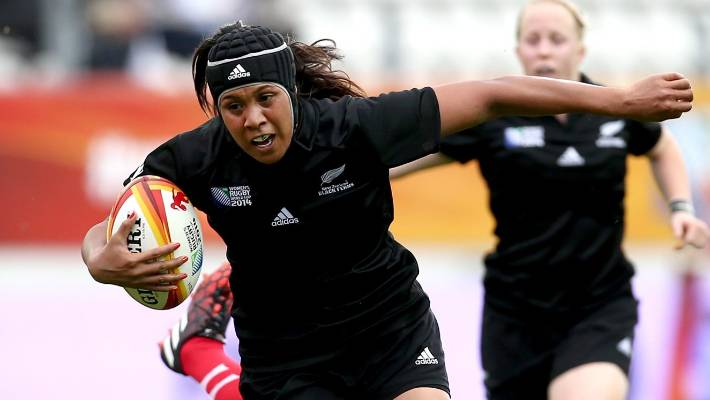Linda Itunu has played in four women's Rugby World Cup tournaments.