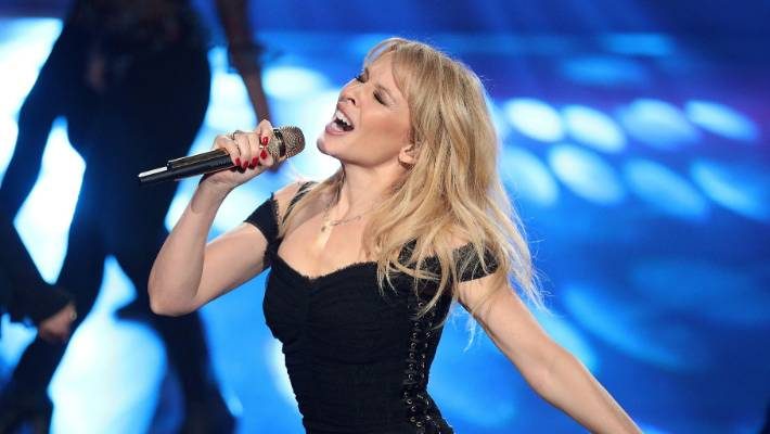 Kylie Minogue had to be safe for her German concert after her threat.