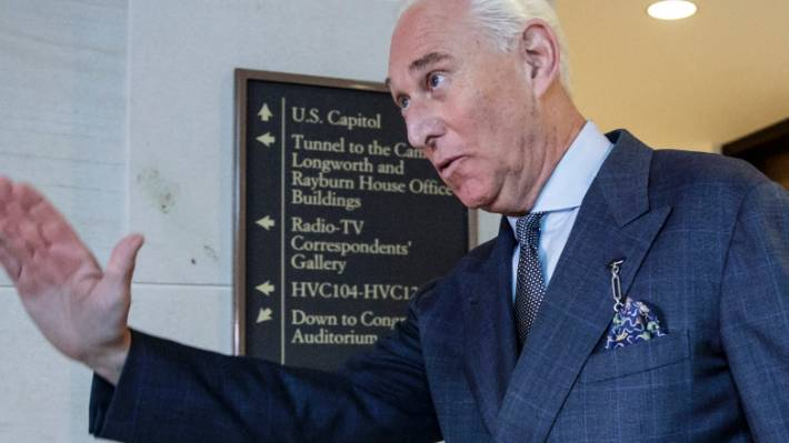 Roger Stone's Instagram account posts freakish  meme hours after indictment