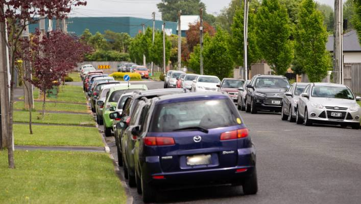 IRD says it is aware of residents' concerns and advises staff how to park safely.