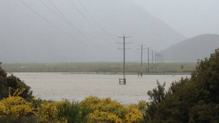 """The rain did not stop late on Wednesday. One reader told Stage that the Bealei River was """"the highest I've ever seen""""."""