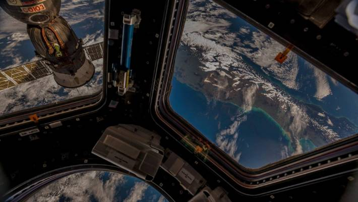 Images of New Zealand from the International Space Station (ISS), taken by the astronaut Alexander Gerst.