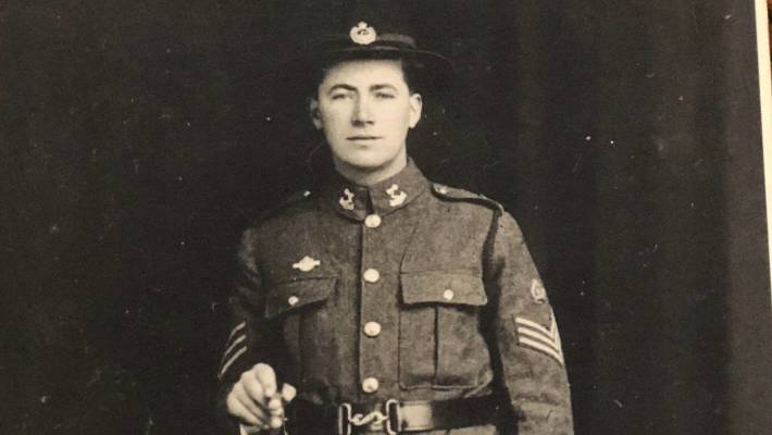 Lowndes served in German Samoa before being shipped to Europe, fighting at the Battle of the Somme before being badly wounded in 1918.