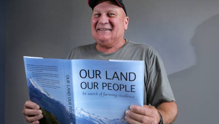Author of farming book Our Land Our People Ross Hyland has based his book on stories about farming throughout New Zealand.