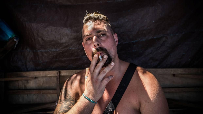 Melbourne underworld figure Mick Gatto's son Justin spoke about