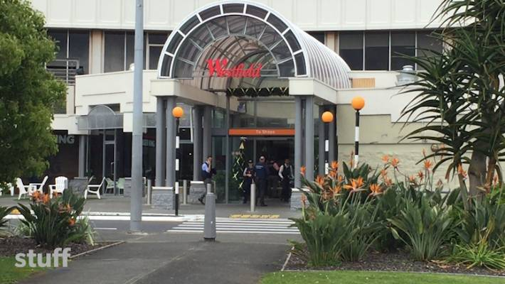 Westfield Manukau was evacuated on Friday morning when a man allegedly grabbed a woman and held a knife to her neck.
