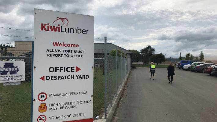 A person died in a Kiwi Lumber Masterton sawmill on Friday morning in a workplace accident.