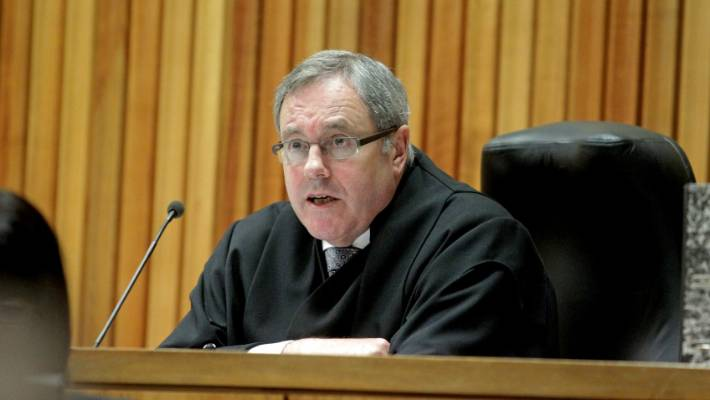 Timothy Brewer, the Supreme Court Justice, told Zannah Johnston that he could not understand her.
