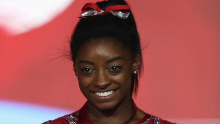 Simone Biles won gold this month at the world championships despite dealing with the pain from kidney stones.