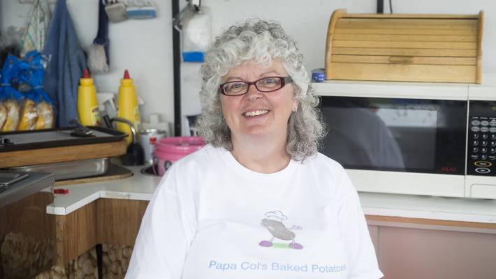 Papa Col's co-owner Yvonne Coutman says grandstand repairs should be favoured over demolition.