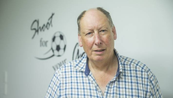 Former Marlborough Football chairman Tim Leslie says the old grandstand should come down.