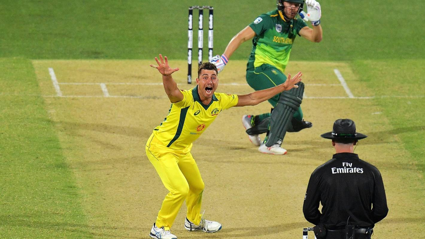 Australia snap seven-match ODI losing streak, beating South Africa
