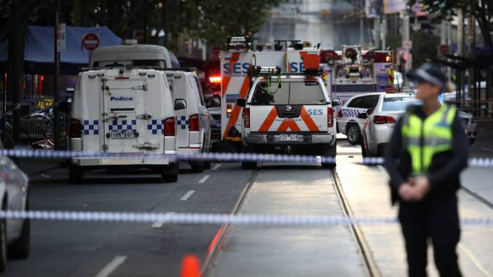 The attacker was confirmed by police to be a terrorist less than four hours after the attack.