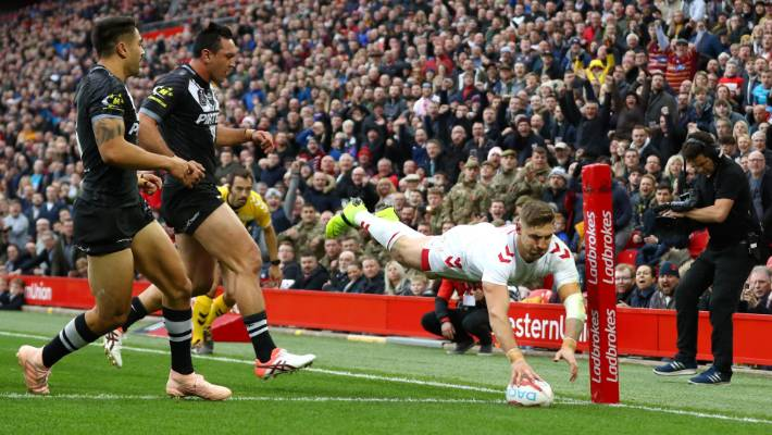 The Kiwis gave up second-half leads in the first two tests against England.